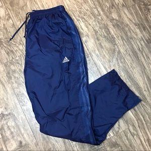 Adidas Men's Mesh Lined Windbreaker Track Pants XL